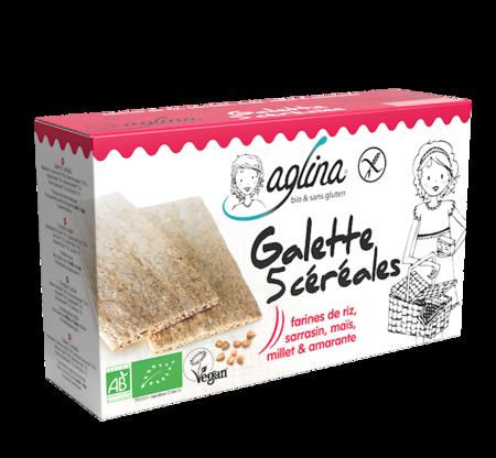 Visuel : Galette 5 céréales - Galettes