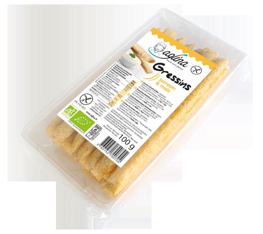 Gressin sarrasin maïs