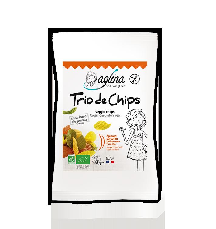 TRIO DE CHIPS