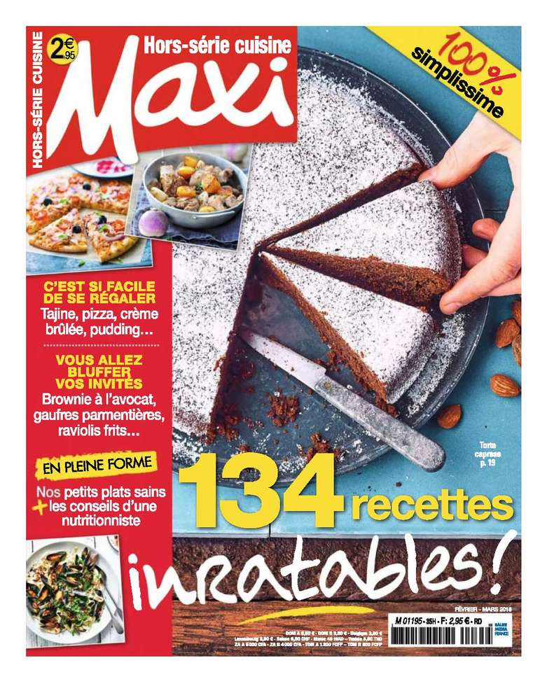 Les Goûtines magazine MAXI