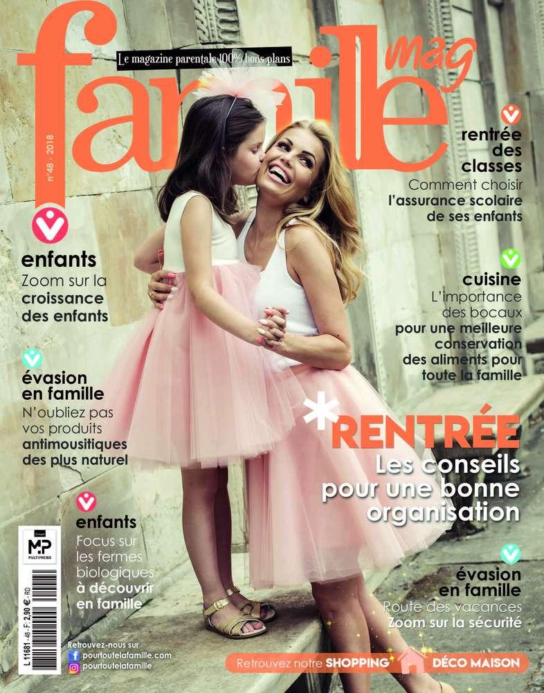 Magazine Famille et nos Gressins pour l'apéro !